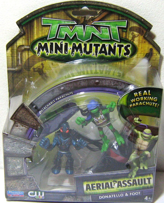 Mini-Mutants Aerial Assault Don & Foot (boxed)