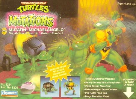 Mutatin' Michelangelo (boxed) 1
