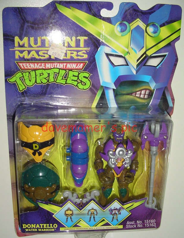 Water Warrior Donatello (boxed)