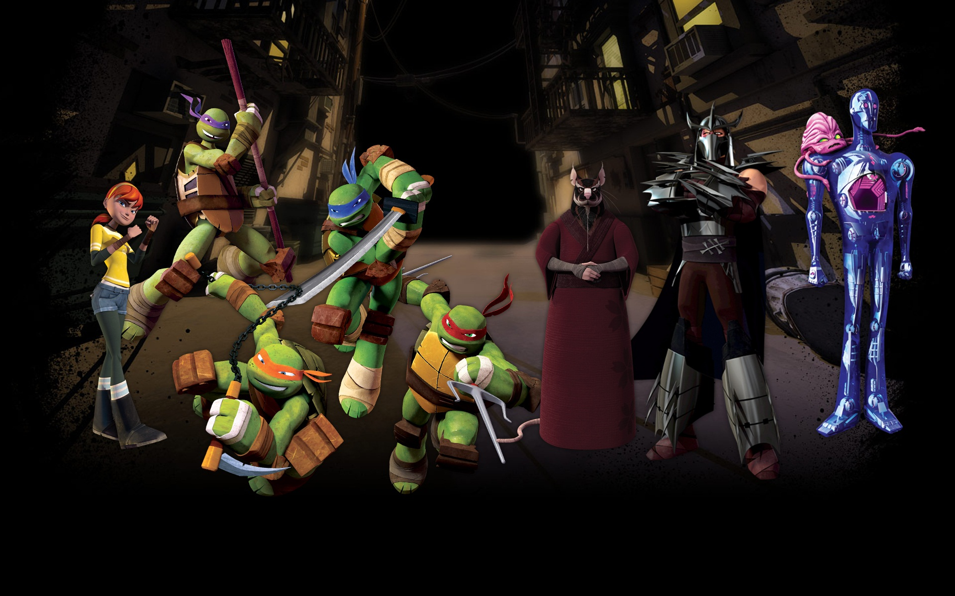 TMNT 2012 wallpapers (15) 1920х1200