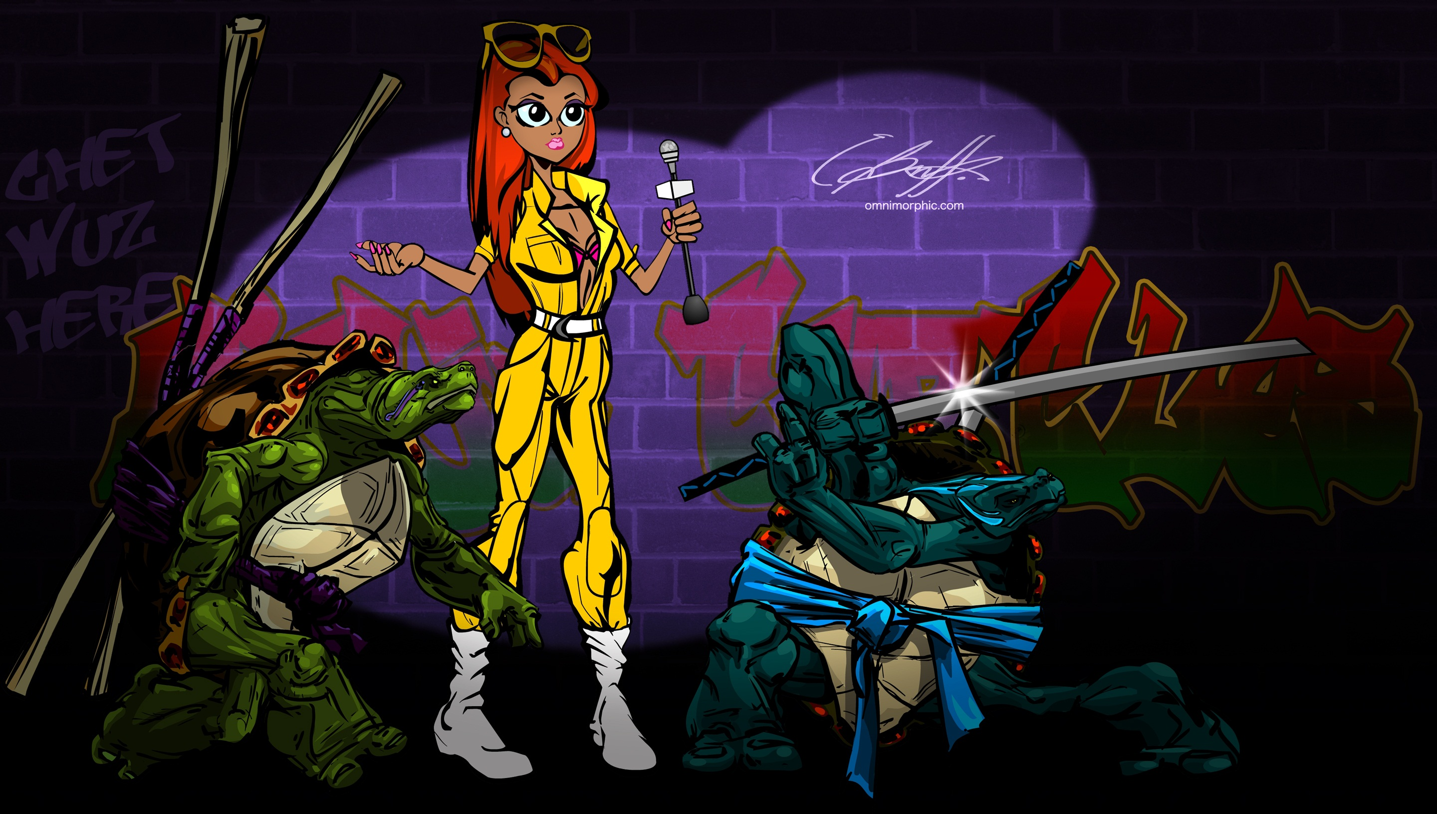 TMNT wallpaper miscellaneous 15 (2880х1631)