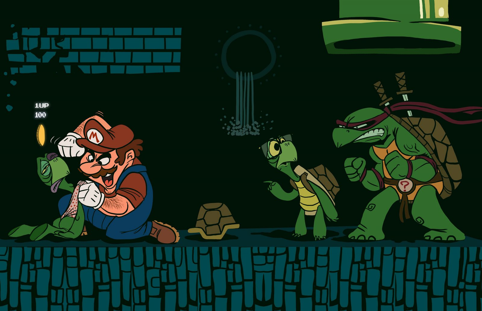 TMNT wallpaper miscellaneous 26 (1600х1035)