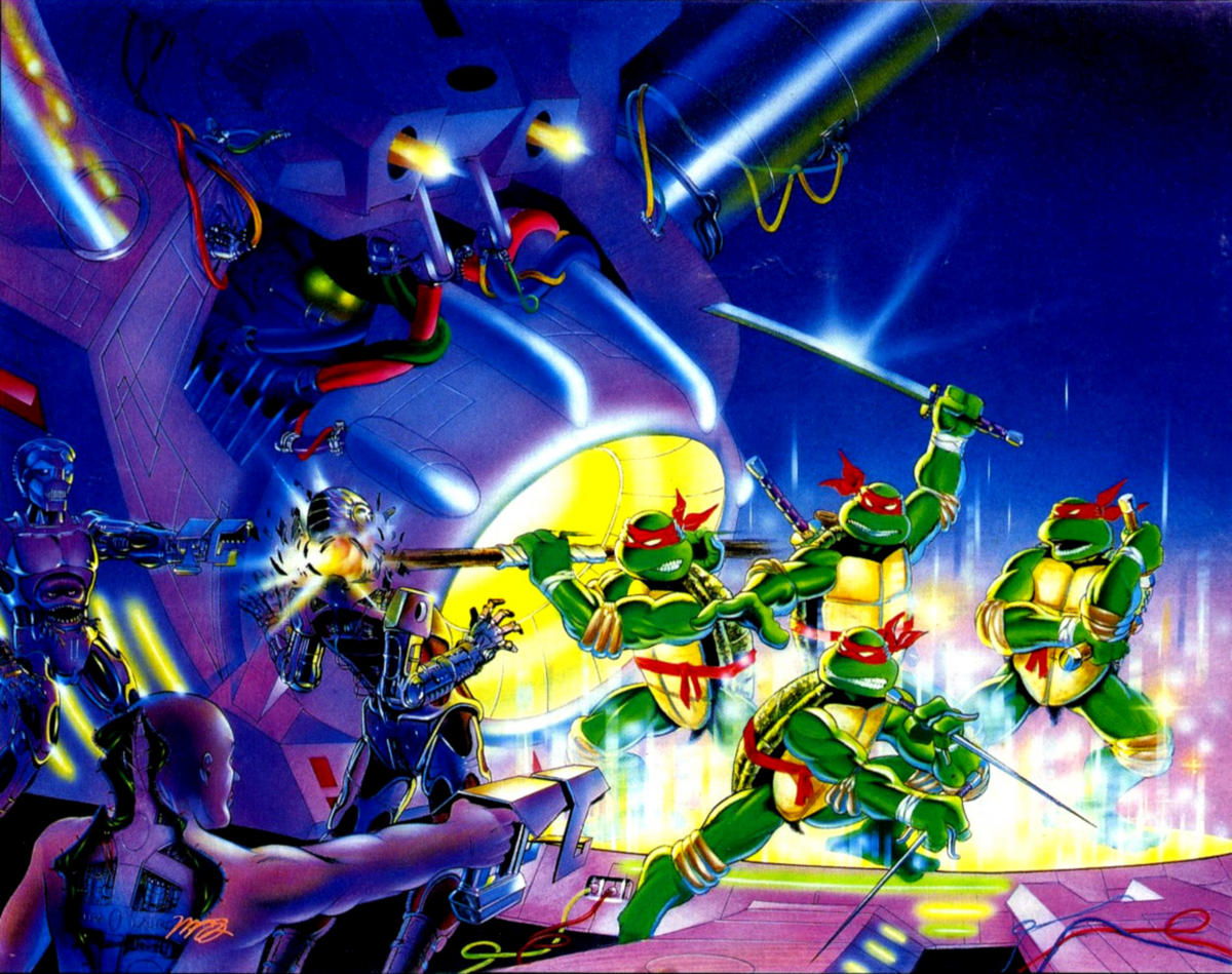 TMNT wallpaper bases on comics (14)