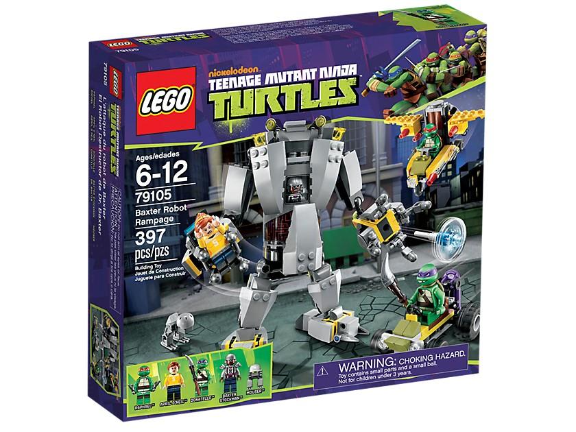Lego. Baxter Robot Rampage