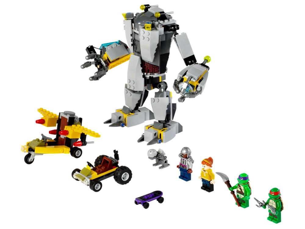 Lego. Baxter Robot Rampage (2)