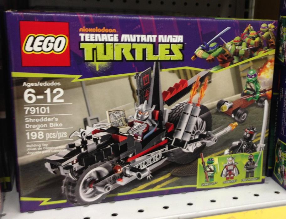 Лего черепашки ниндзя наборы цена