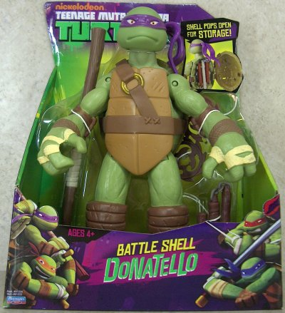 Battle Shell. Donatello (boxed)