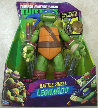 Battle Shell. Leonardo (boxed)