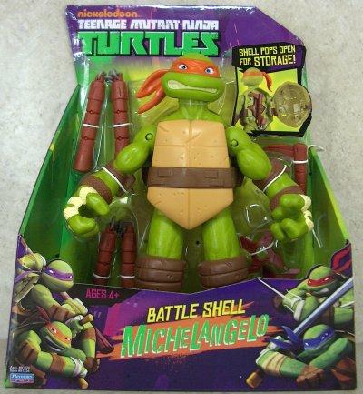Battle Shell. Michelangelo (boxed)