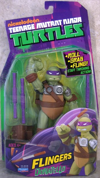 Flingers. Donatello (boxed)