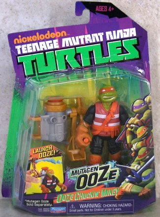 Ooze Scooping Mikey (boxed)