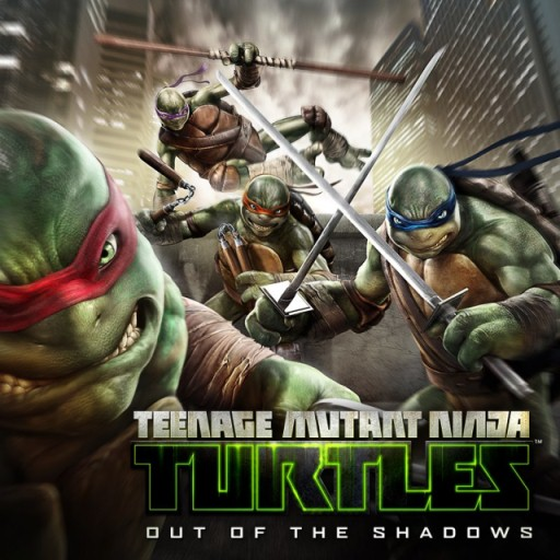 Постер TMNT Out of the Shadows