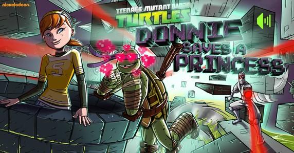 Донни спасает принцессу!