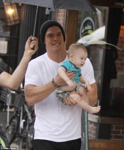 Alan Richson with son (1)