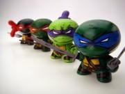 Teenage Mutant Ninja Turtle Dunnys (Raphael, Michelangelo, Donatello & Leonardo) by Nikejerk.jpg