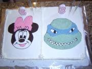 Минни Маус и Черепашка Леонардо - торт.JPG