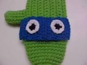 Черепашка Леонардо - вязаная рукавица.jpg