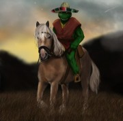 cowboy_turtle_at_sunset_by_thesadpencil-d34hut6.jpg