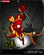 TRDL 2011 Series No. 62 – Iron Man vs. Wasp Vs. TMNT.jpg