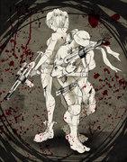 sainw-battleground (Angel & Mikey) by kaoru-chan.jpg