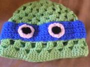 Черепашка Леонардо - вязаная шапочка.jpg
