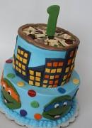 Торт с Черепашками Ниндзя (1).JPG