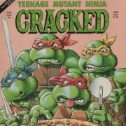 Vintage Cracked magazine TMNT parody Teenage Mutant Ninja Turtles AUG 1990.jpg
