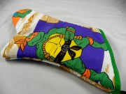 Teenage Mutant Ninja Turle Vintage Reclaimed Fabric Oven Mitt (2).jpg