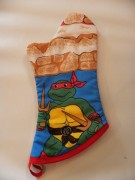 Teenage Mutant Ninja Turle Vintage Reclaimed Fabric Oven Mitt (1).jpg