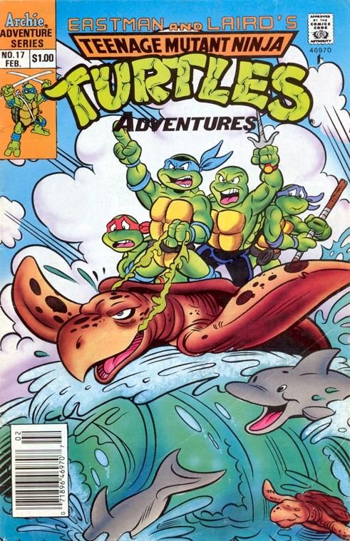 TMNT Adventures (1988 - 1995) #17 ''Битва сильных''.jpg