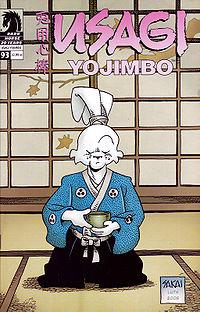 Миямото Усаги Miyamoto Usagi - 200px-UsagiYojimboCover93.jpg
