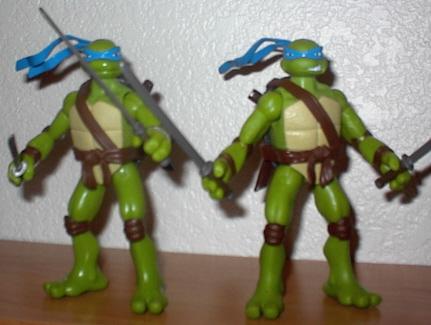 Игрушки и фигурки TMNT общая тема  - черепашки ниндзя леонардо 1.jpg