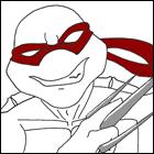 Аватары по Черепашкам Ниндзя - черепашки ниндзя аватар рафаэль 1.jpg
