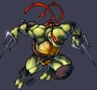 Аватары по Черепашкам Ниндзя - Черепашки ниндзя 2003 Рафаэль 5.jpg