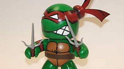 Игрушки и фигурки TMNT общая тема  - custom-mighty-muggs-tmnt-raphael.jpg