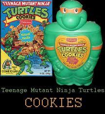 Изображения TMNT, их символика и т.п. на различных предметах - Микеланджело - банка для печенья.jpg