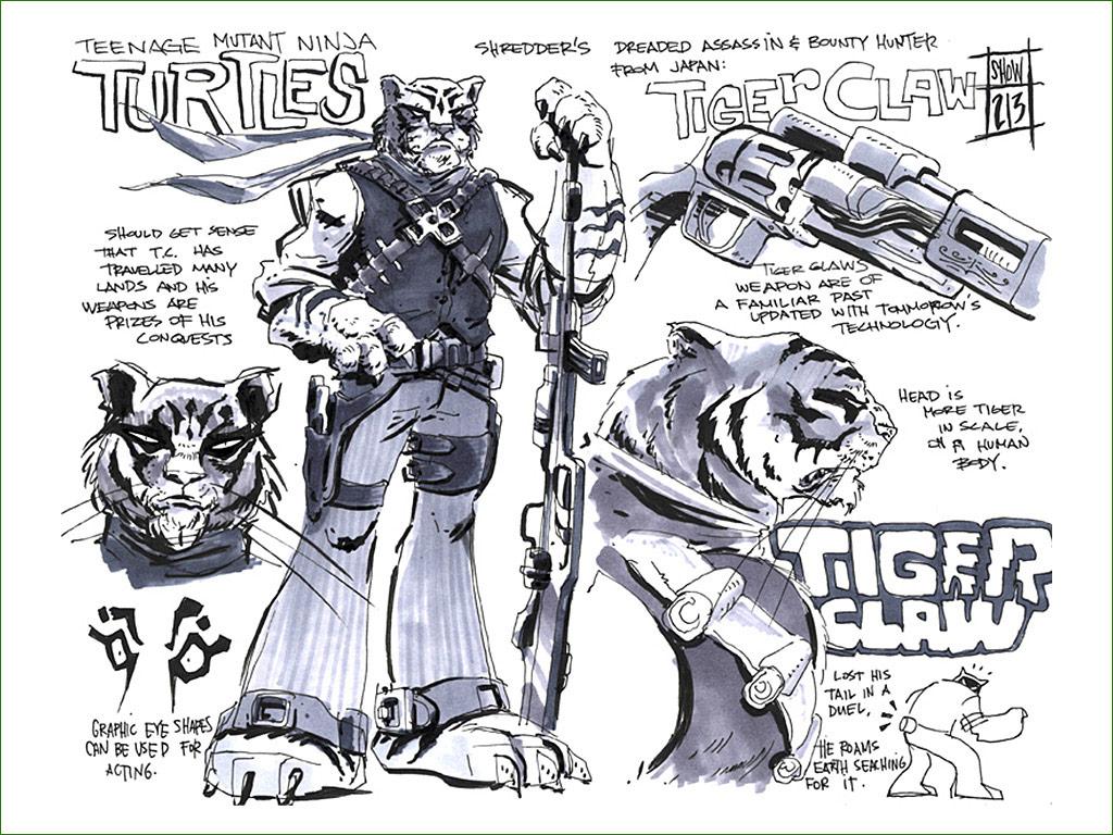 Единственный перс из новых который мне нравится - это Tiger Claw  - flipbook-tmnt-comic-con-16.jpg