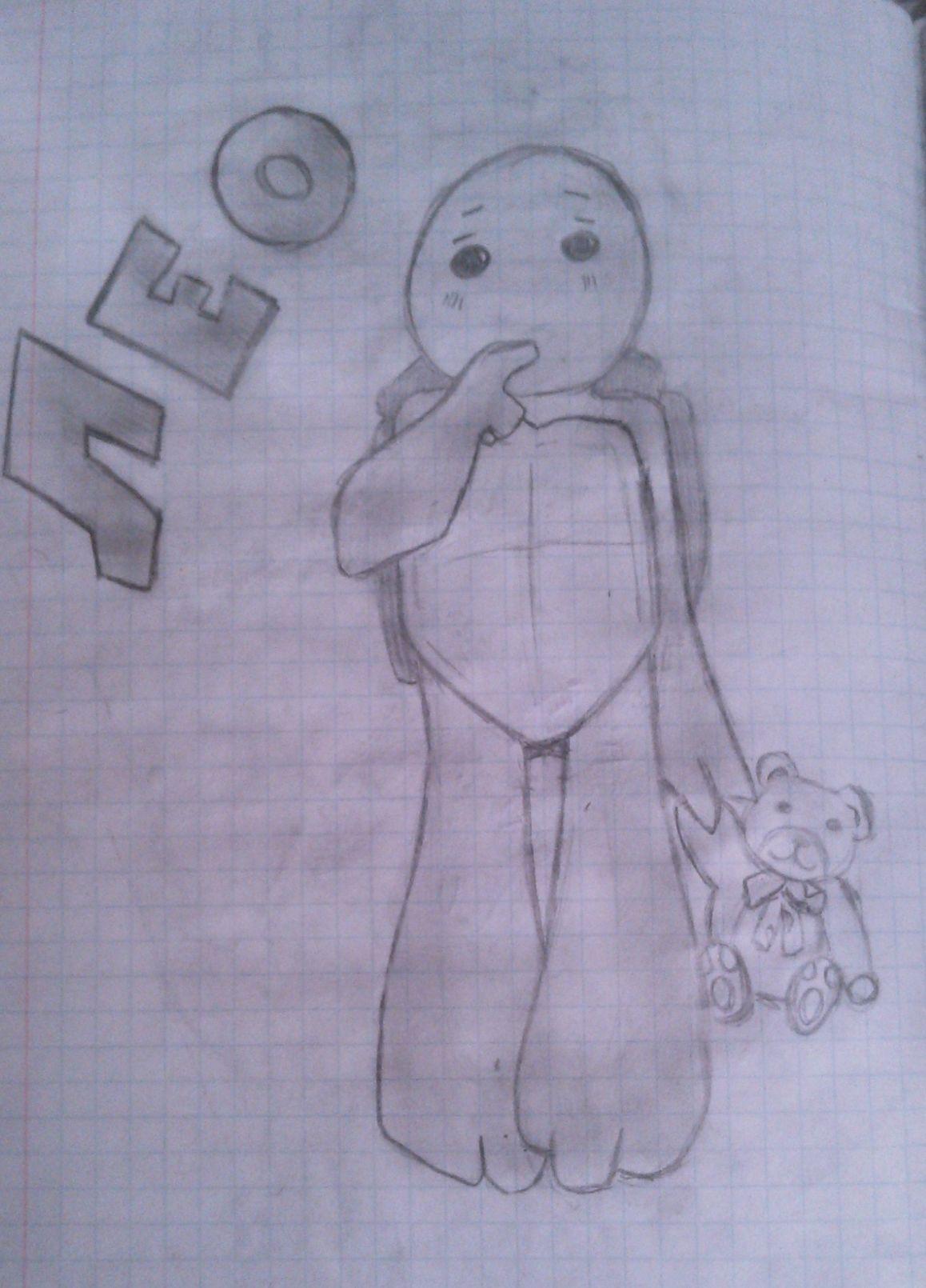 TMNT рисунки от M@ShKi  - WP_20140222_006.jpg