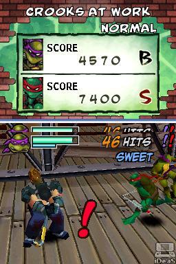 TMNT: Arcade Attack Nintendo DS  - TeenageMutantNinjaTurtlesArcadeAttackNDS2.JPG
