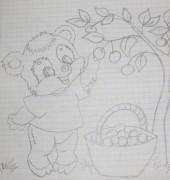 это все просто детские рисунки, рисовала, перерисовывала, срисовывала, когда работала вожатой:  - IMG_1160.jpg