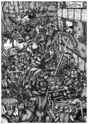 TMNT рисунки от Demon-Alukard а - tmnt_caw_pin-up3_bw_tones_by_demon-alukard.jpg