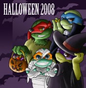 Зарубежный Фан-Арт - TMNT__Halloween_2008_by_NamiAngel.jpg