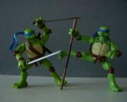 Игрушки и фигурки TMNT общая тема  - черепашки ниндзя леонардо донателло 3.jpg