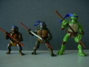 Игрушки и фигурки TMNT общая тема  - черепашки ниндзя фигурки 1.jpg