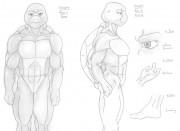 Творчество от Демоник - Turtle_Anatomy_Sketch.jpg