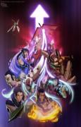 Аватар: Легенда об Аанге Легенда о Корре - Avatar_Season_4_poster_COLORED_by_DarkKenjie.jpg