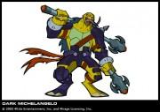 Клоны черепах Dark Turtles - Клон Микеланджело.jpg