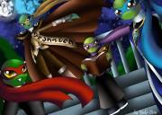 Рисунок к фанфу Пророчество Неба . Все черепахи... убился об стол  - сканирование0097 копия2.JPG