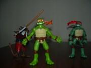 Игрушки и фигурки TMNT общая тема  - черепашки ниндзя 2007 микеланджело рафаэль.jpg