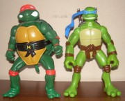 Игрушки и фигурки TMNT общая тема  - черепашки ниндзя фигурки.jpg
